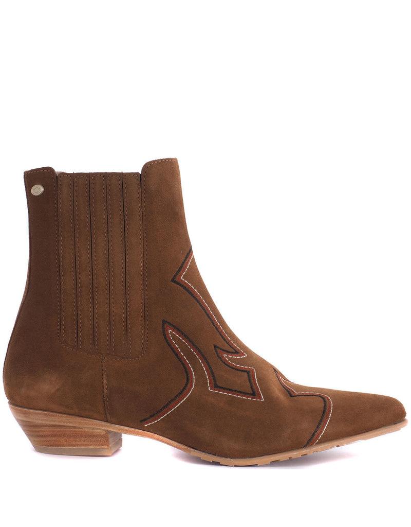 Fred de la Bretoniere Boot Chelsea 182010080 Brown