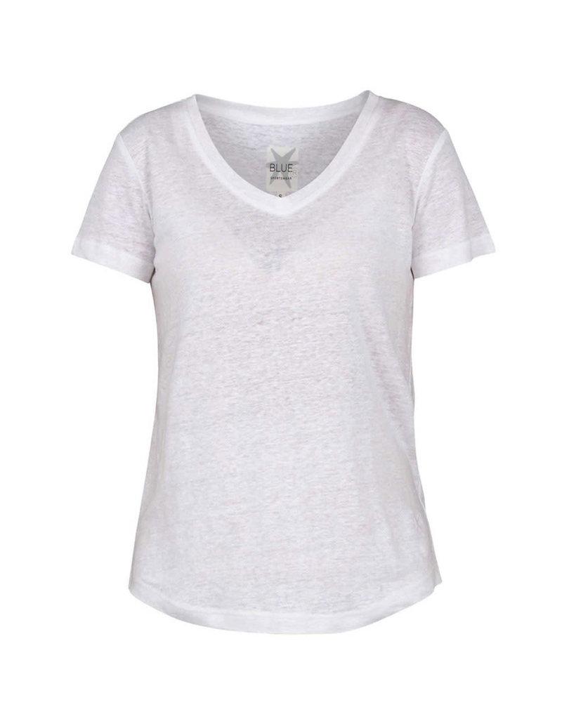 Blue Sportswear T-shirt Carolina White
