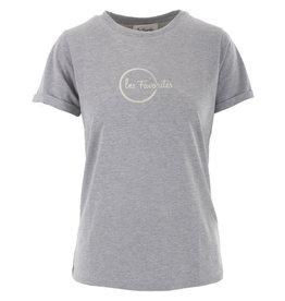 Les Favorites T-shirt Bobby Grey m.