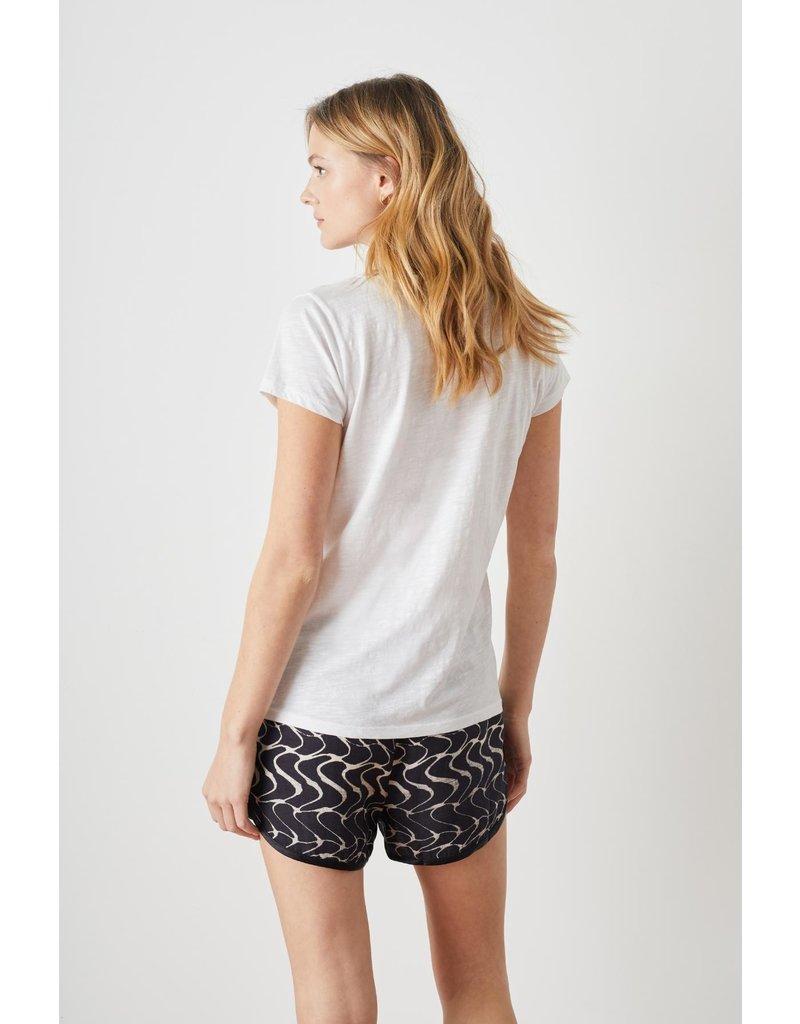 Leon & Harper T-shirt Tonton D.white