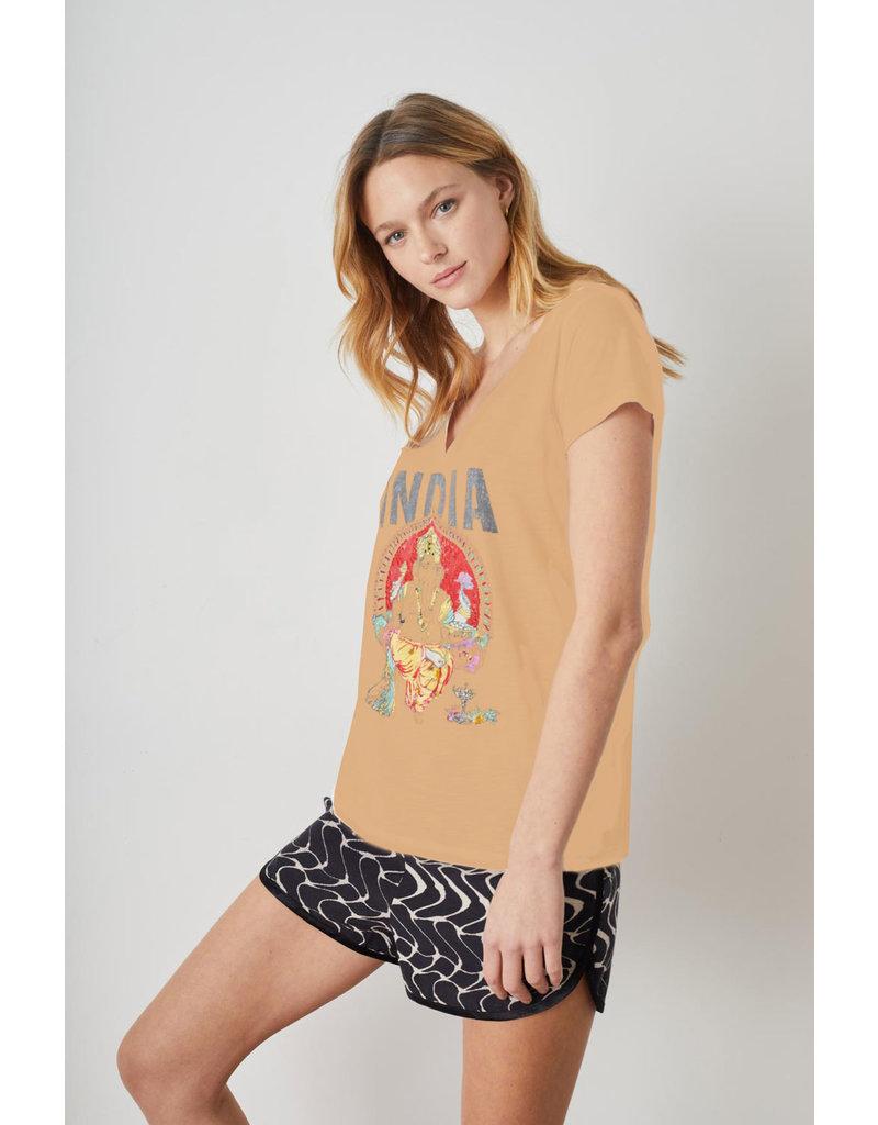 Leon & Harper T-shirt Tonton I.amber