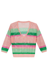 Pom Amsterdam Pullover Over the rainbow