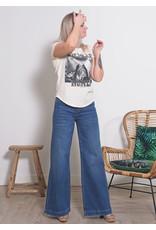 Tomorrow Kersee flare jeans denim blue