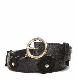 Fabienne Chapot Belt Flower 04 Black