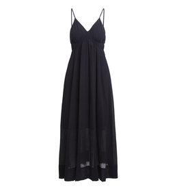 Rabens Saloner Dress Jen- Airy long Black
