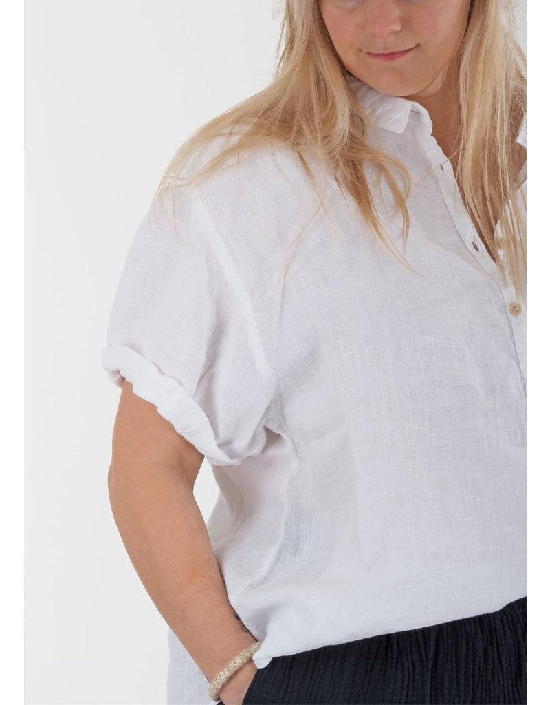 Penn&Ink Blouse S21W318 white