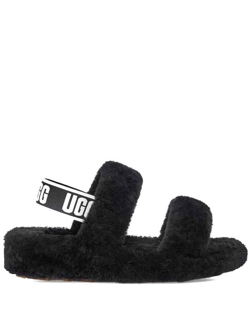 Ugg Sandaal Oh Yeah Black