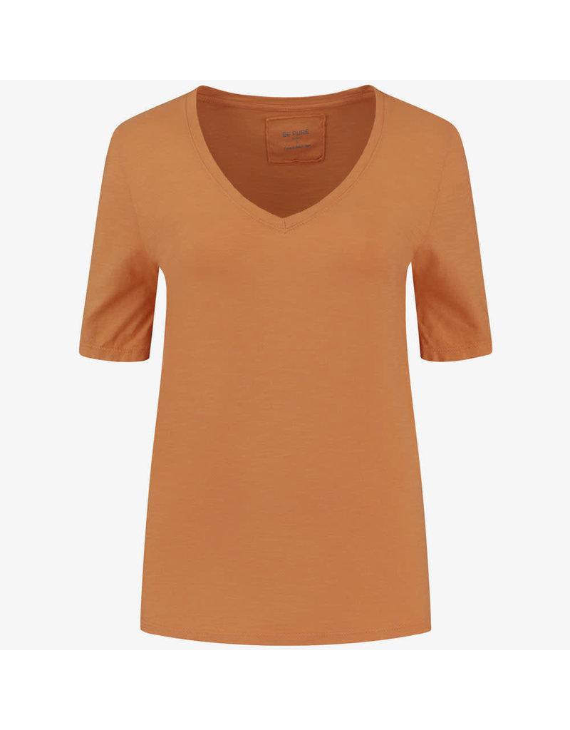 Be Pure T-shirt 12559 v/hals B. Orange