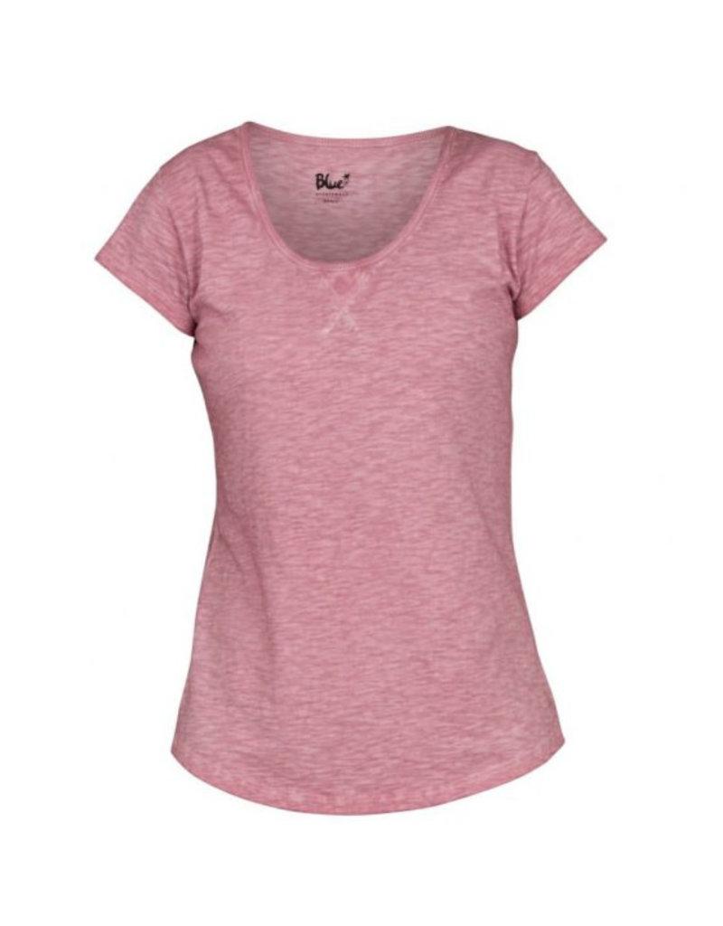 Blue Sportswear T-shirt Gracia Rose wine