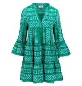 Devotion Short dress Neon Ella Blue/Green