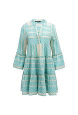 Devotion Short dress Neon Ella Blue/Off