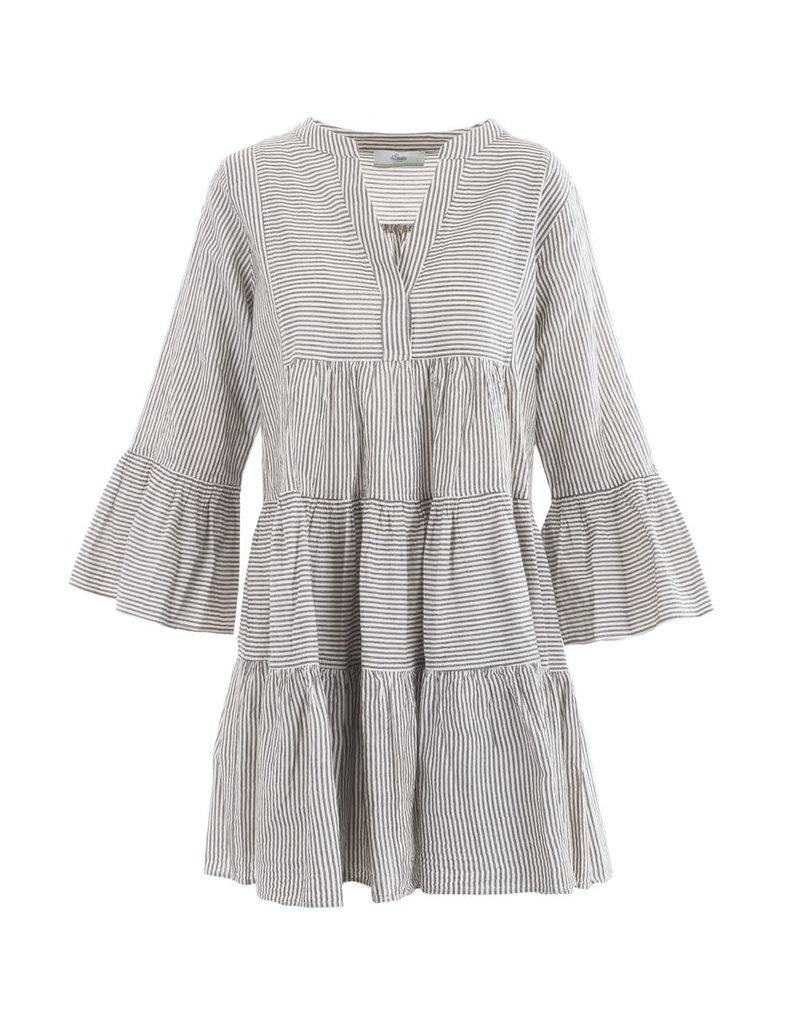 Devotion Short Dress Ella Stripe