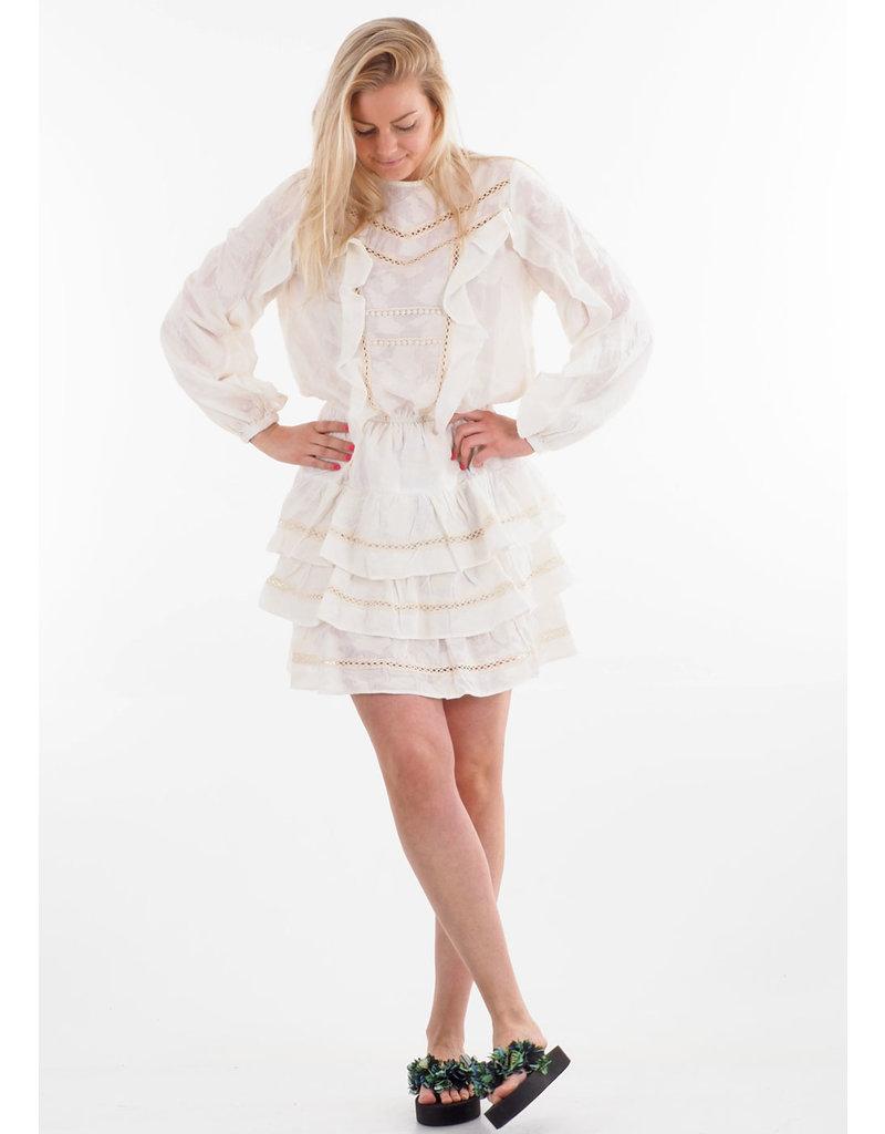 Devotion Short Dress Ruffle