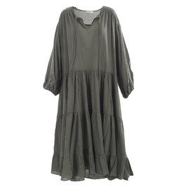 Devotion Long Dress Khaki