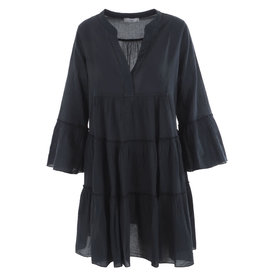 Devotion Short Dress Carbone