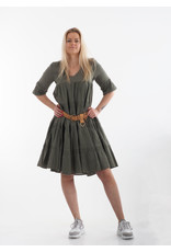 Devotion Midi Dress Ruffle