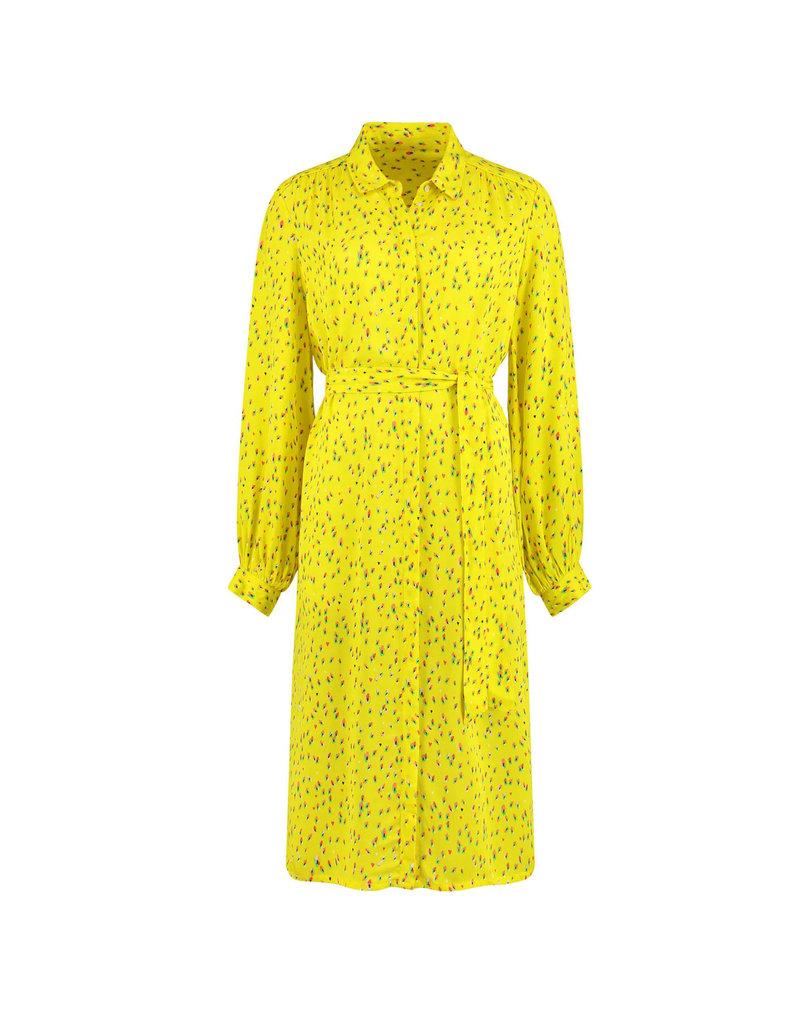 Pom Amsterdam Dress Flower Kisses Lemon