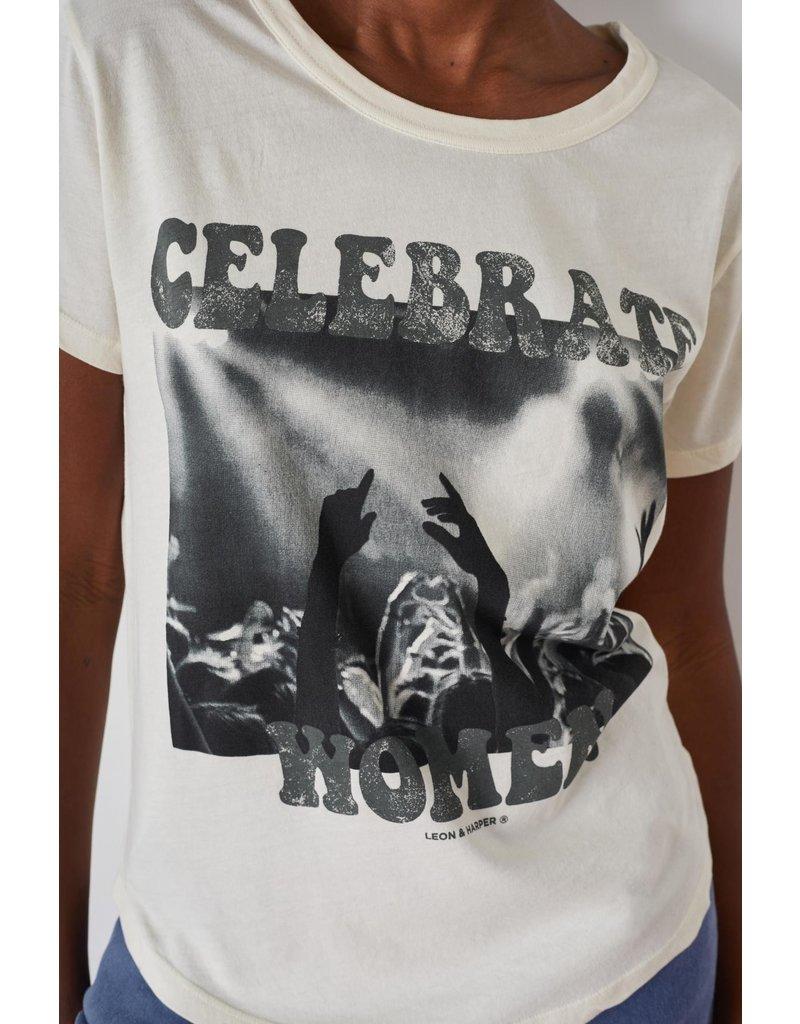 Leon & Harper T-shirt Toro C.white