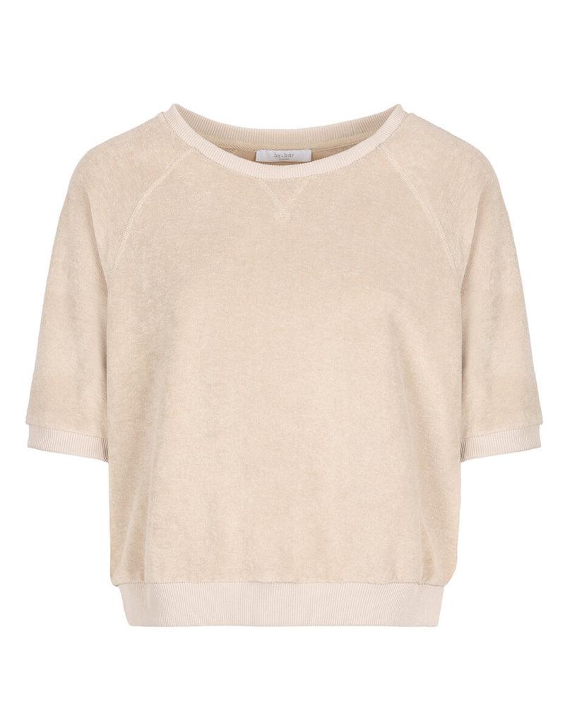 By-Bar Sweater Neva slub ORG Nude