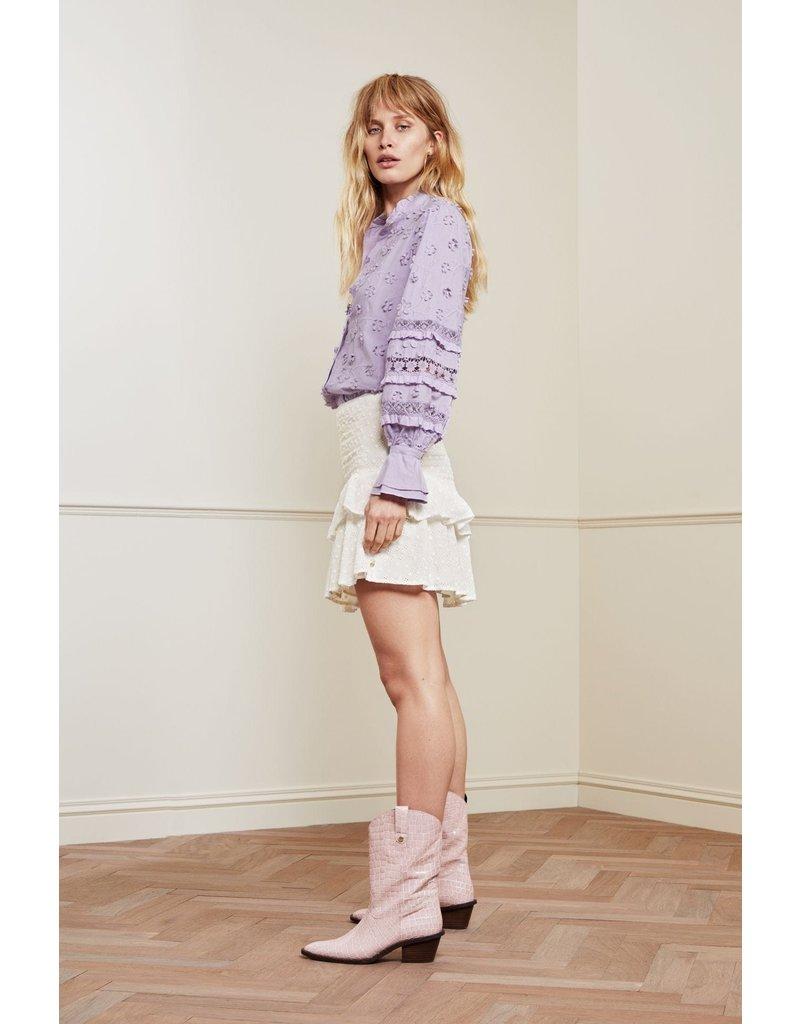 Fabienne Chapot Skirt Serenity Cream