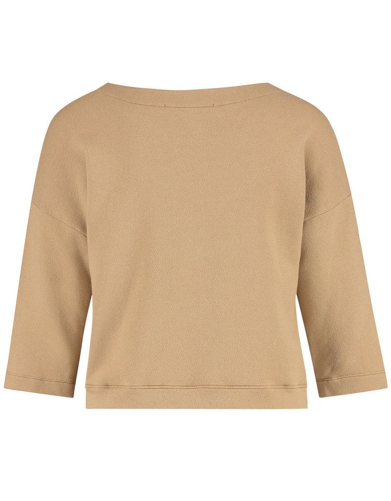 Penn&Ink Sweater S21T602LTD biscuit