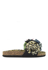 Colors of California Sandal Bio wide fl. Black