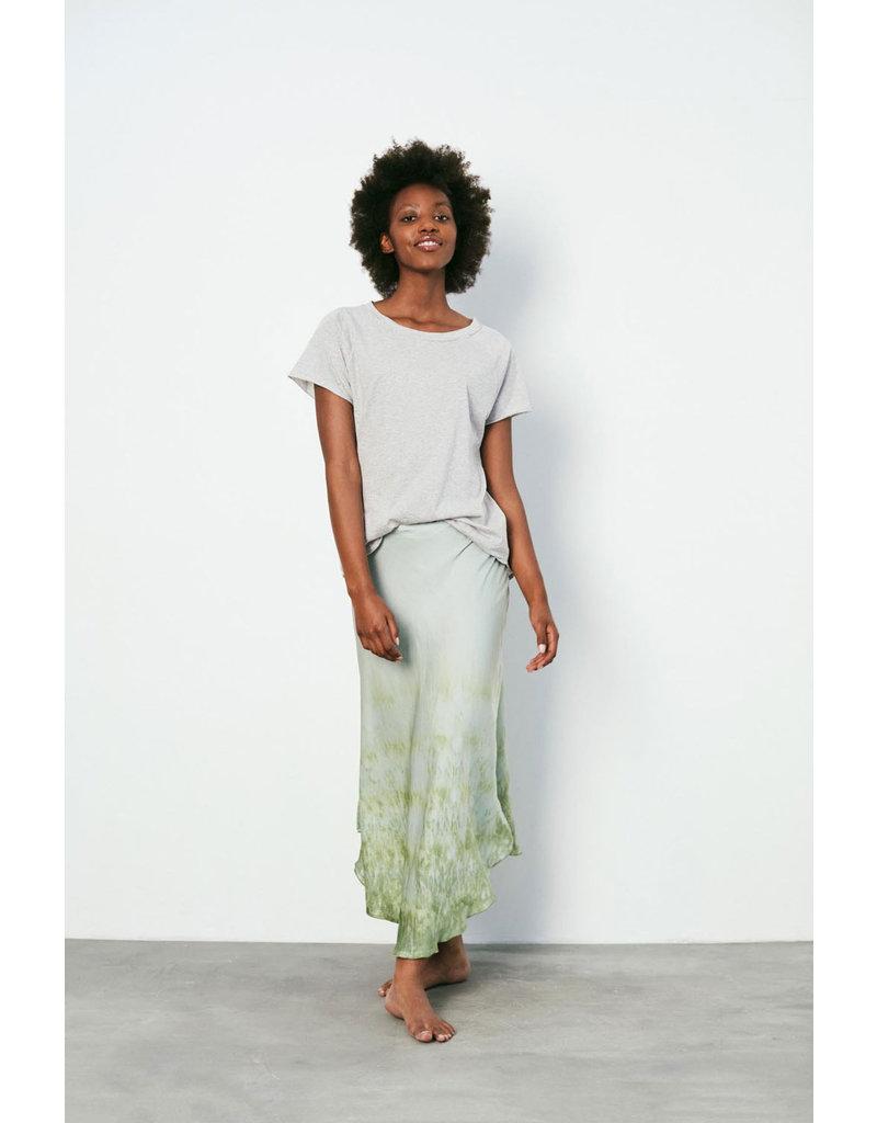 Rabens Saloner Skirt Nellle-Freckled S.green