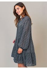 Circle of Trust Dress Janie Blue w.print