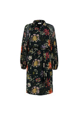Pom Amsterdam Dress Flower Love Black