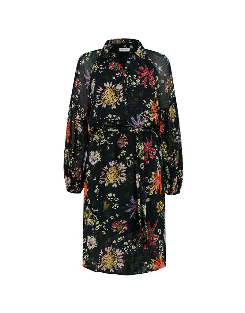 POM Dress Flower Love Black