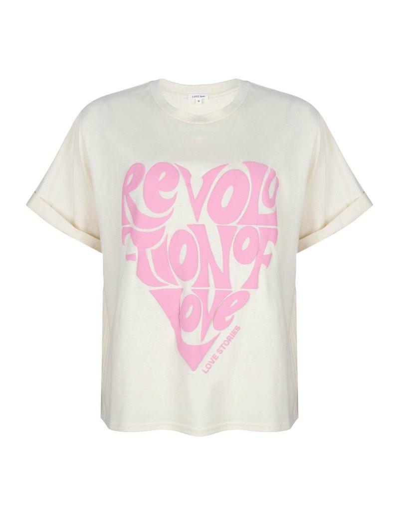 Love Stories T-shirt Josie With print