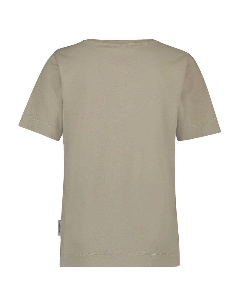 Penn&Ink N.Y. t-Shirt print W21F987 String silver