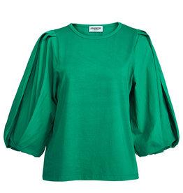 Essentiel Essentiel T-shirt Apero Poplin Green m.