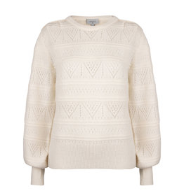 Dante 6 Sweater Valana ajour Bone