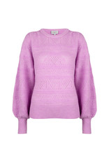 Dante 6 Sweater Valana ajour Pastel Pink