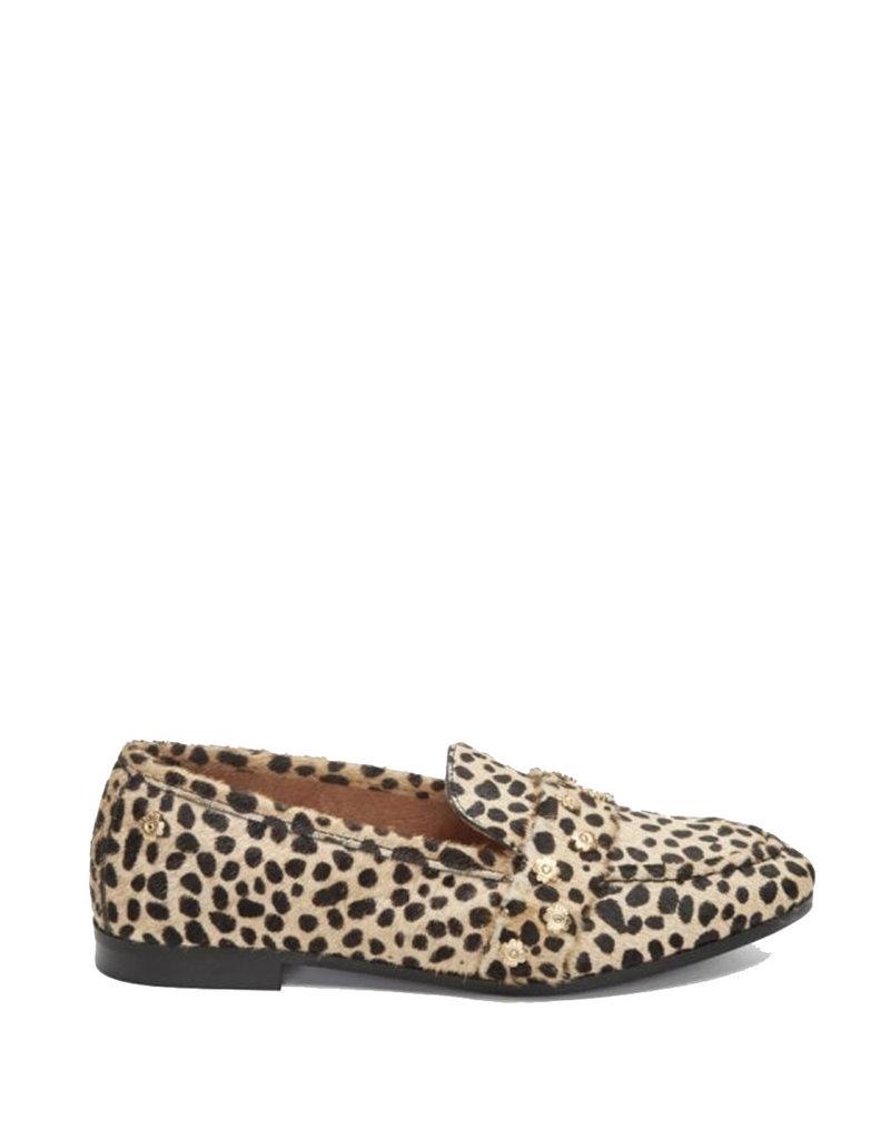 Fabienne Chapot Loafer Lover studs Camel/black