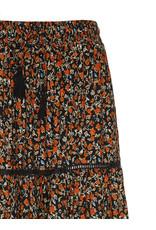 Les Favorites Skirt Lot Maxi Orange clay flower