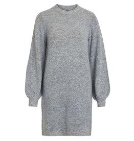 Object Eve Nonsia L/S Knit Dress L. Grey