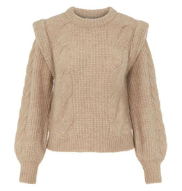 Object Peaches Knit Pullover  S. Gray