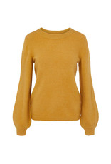 Object Eve Nonsia L/S Knit Pullover Honey