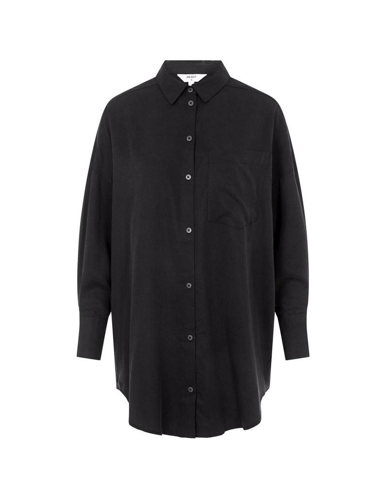 Object Tilda Loose Shirt Pb10 Black