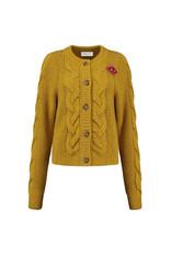 Pom Amsterdam Cardigan sophie Golden Amber
