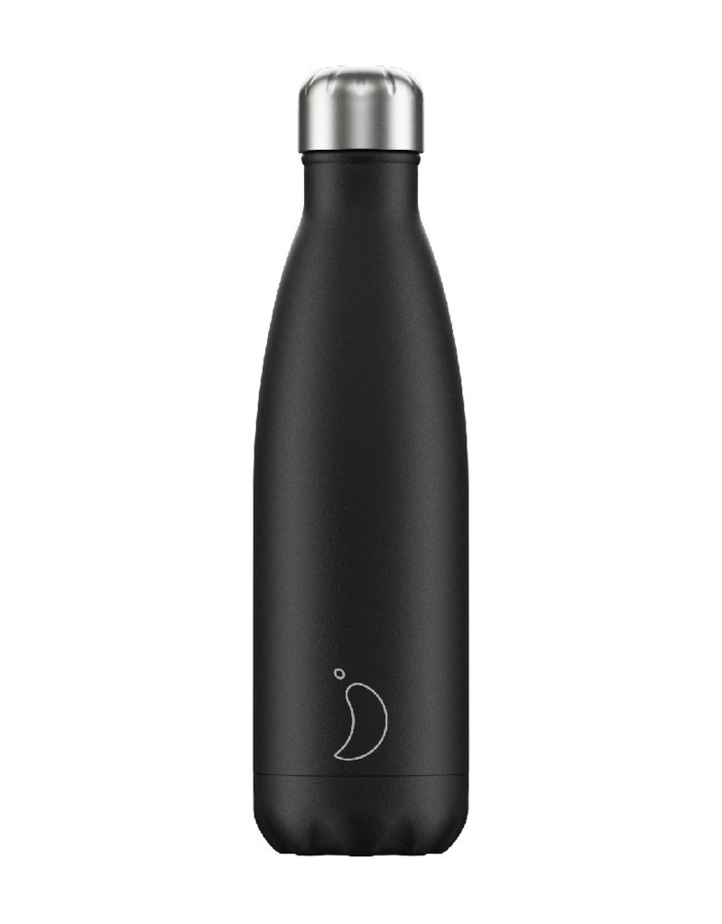 Chilly's Bottle 500 ML Black Matte