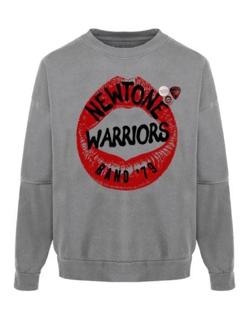 New Tone Sweat shirt Roller Warriors Grey