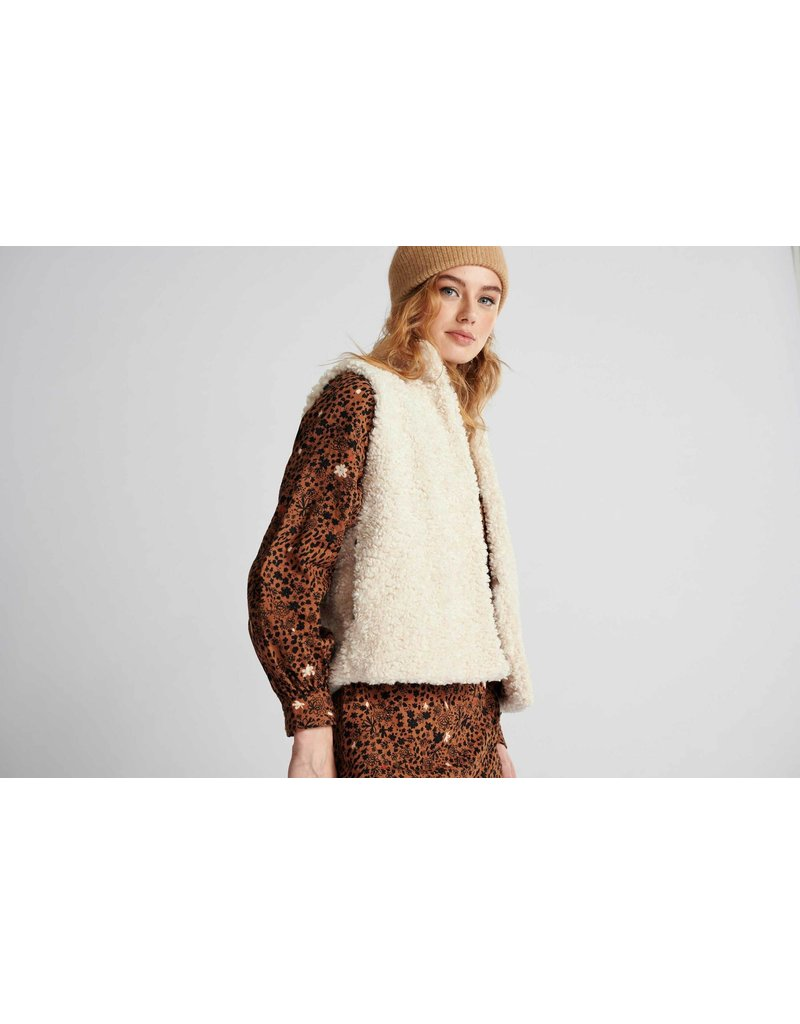 Pom Amsterdam Jacket Teddy Ivory Ecru