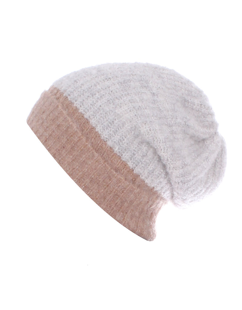 Aimee Hat Jeany L.grey/camel