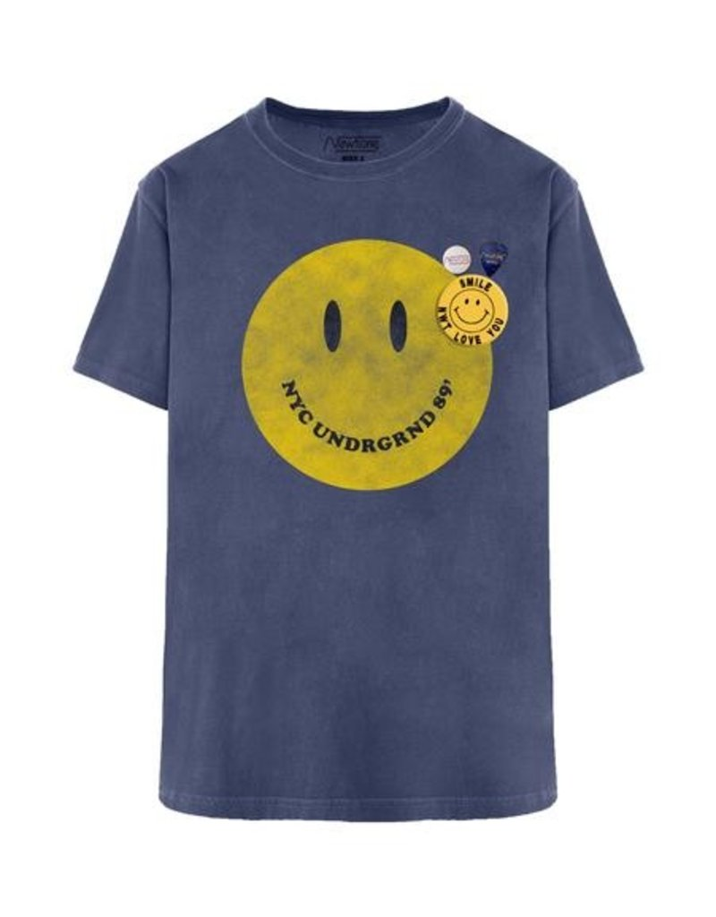 New Tone Tshirt Trucker Smiley Denim