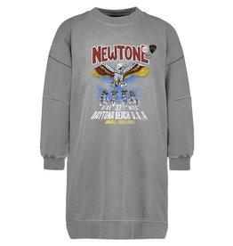 New Tone Dress Morrison con. Grey