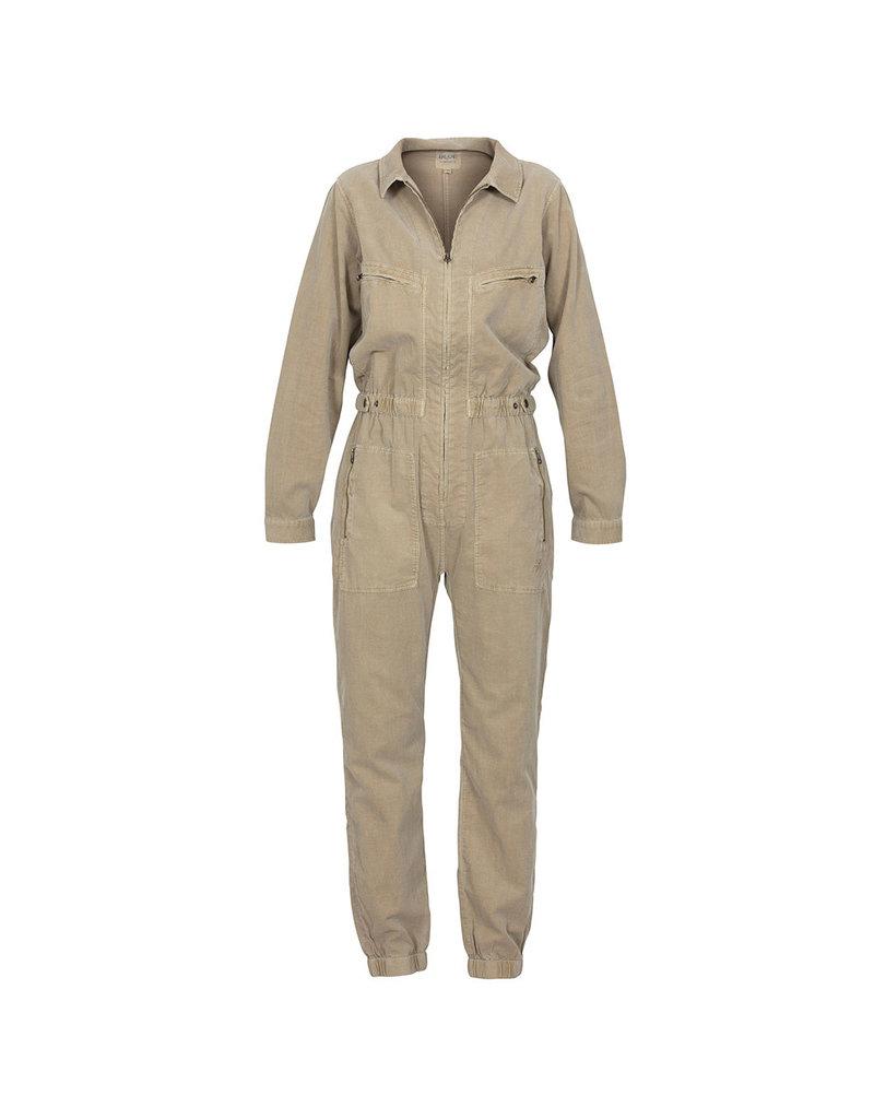 Blue Sportswear Jumpsuit Dallas corduroy Beige