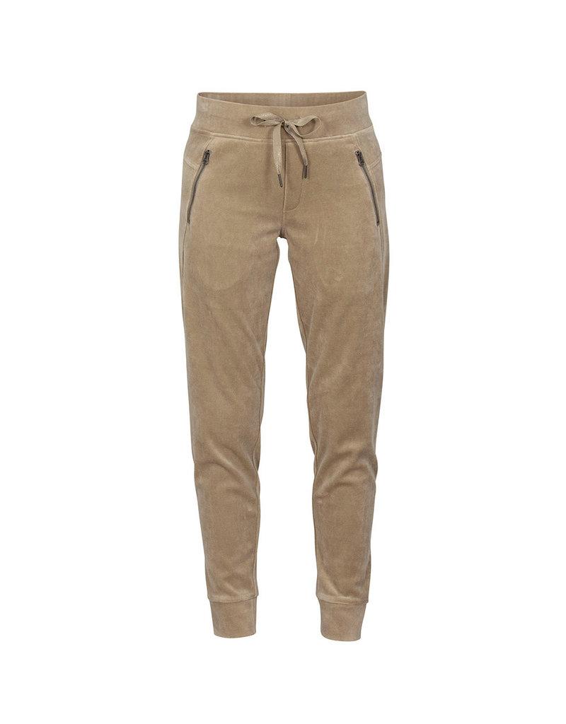 Blue Sportswear Pants Waterloo velvet Beige